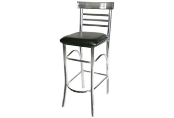 Thickback Chrome & Black Barstool (Barstools) in Orlando, Florida
