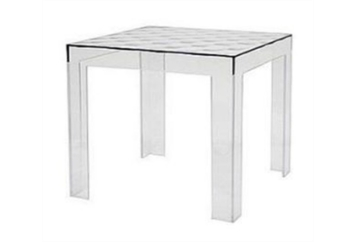 Diamond Acrylic End Table (Tables - End) in Orlando